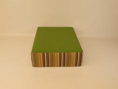 Zit blok 60x78x20 Sunbrella Granny/Confetti Green