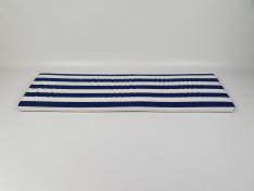 Zitkussen strak 154x43,5x5 Nautica Lines Marino
