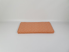 Zitkussen strak 90x45x5 Negril Orange
