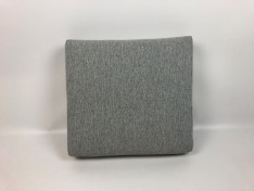 zitkussen strak met bolling 54x 49 x 10 cm copacobana white taupe