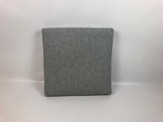zitkussen strak met bolling 62 x 60 x 10 cm copacobana white taupe