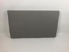 zitkussen strak 100 x 57,5 x 7 cm cartenza uni ash grey