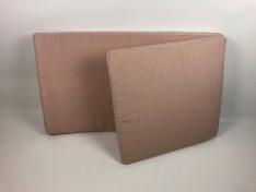 Ligbedkussen 69 breed 5 dik en 117 en 71 lang sunbrella solids blush