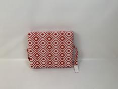 Rugkussen strak, pinamar red, 51,5x61,5x12,5 lus + klittenband, F1-2008