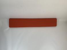 Zitkussen strak, sunbrella paprika, 221x41x5,5 G2011