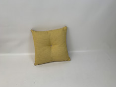 Sierkussen, fontelina yellow 58x57 knoop b3,4 2006