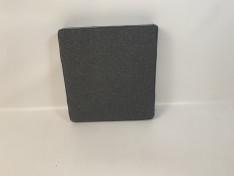 Zitkussen strak, copacobana black 71x67x12 C2001
