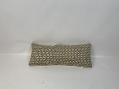 Sunbrella kussen, Geel, stof uit collectie, Rugkussen plof 95x37 A2-2009
