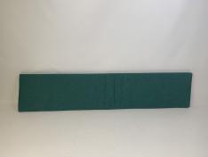Zitkussen strak, copacobana blue grass 224x47x5 G3075
